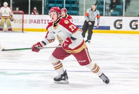 Jacob Melanson of Amherst was one of several Nova Scotians to hear his name called during the NHL draft last weekend. Melanson, who spent last season with the Acadie Bathurst Titan of the QMJHL, was taken 131st overall in the fifth round by the expansion Seattle Kraken.
