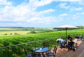 Raise a glass to the Annapolis Valley this summer at any of its wineries, including Planters Ridge (pictured). - Photo Contributed.