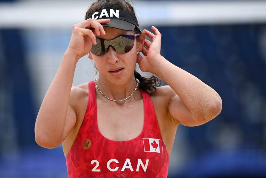 Canada's dynamic duo, the gold medallists at the 2018 Commonwealth Games, trailed for chunks of Monday's first set but ultimately were too tough for the Germans.
