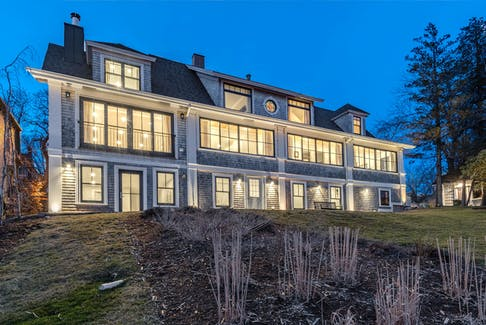 There are currently 242 listings in the province with an asking price of over one million dollars, including this one in Lunenburg.