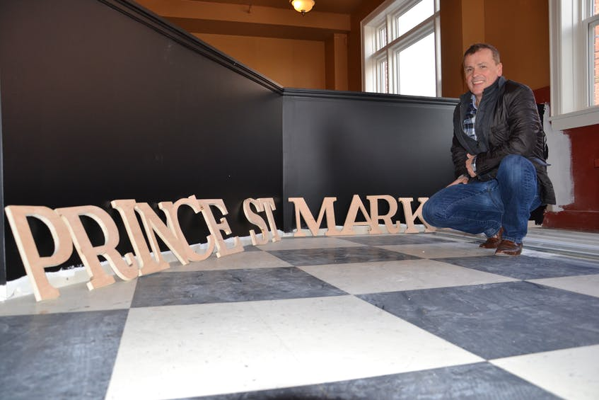 Jim Matthews is seen inside the Prince Street Market in this 2015 file photo. CAPE BRETON POST FILE