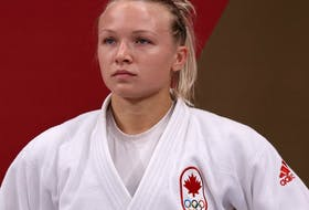 After a heartbreaker in Monday's semifinal, Klimkait rebounded to defeat Kaja Kajzer of Slovenia in a bronze-medal matchup in her 57kg weight-class.