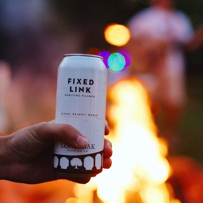 Co-owner of Lone Oak Brewing, Jared Murphy, recommends the Fixed Link, pilsner, which is great for the summer. - Logan Plant