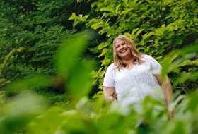 FOR PEDDLE STORY: Leslie Huska, wellness coordinator with the Healthy Minds Co-operative is seen in Dartmouth Monday July 26, 2021. For Stu story on people's experiences dealing with hopelessness and suicidal thoughts during the pandemic.  TIM KROCHAK PHOTO