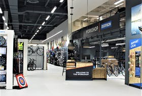 Decathlon has prioritized a number of more eco-friendly initiatives, like partnering with bike or electric vehicle delivery services, in the store's local community. - Photo Courtesy JavyGo photo via Unsplash.