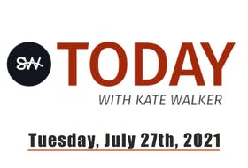 Saltwire today with guest host Sarah Poko.
