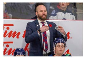 Ryan Salvis is the new head coach of the Amherst CIBC Wood Gundy Ramblers. Salvis joins the club after serving as an assistant coach with the QMJHL's Moncton Wildcats.