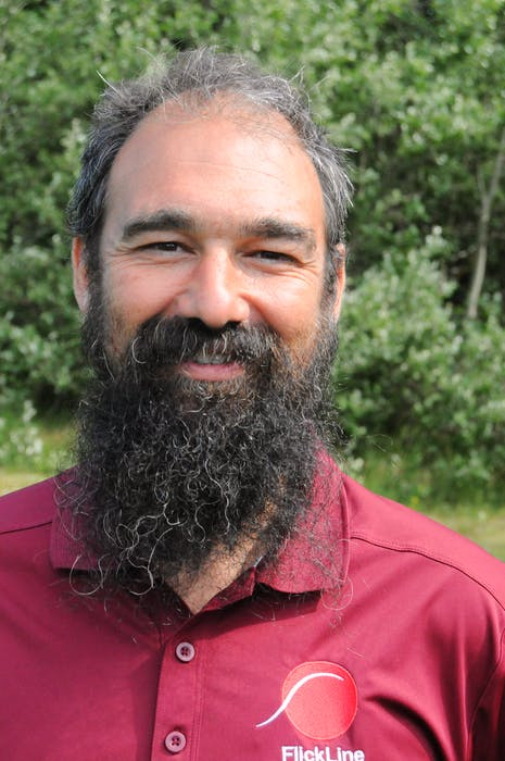 Benjamin Smith is the owner of Flickline. He has designed 28 disc golf courses, the latest being in St. John's.