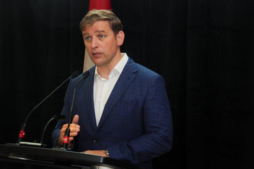 Newfoundland and Labrador Premier Andrew Furey.