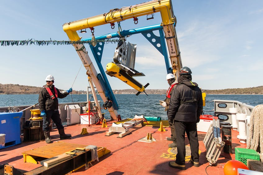 The Kraken Robotics Kraken Active Towfish (KATFISH) is one of the technologies developed by the St. John's-based company. Kraken has been in acquisition mode for the past year.