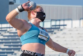 Part of thrower Sarah Mitton's journey to the Tokyo Olympic Games came through the University of Windsor Lancers.