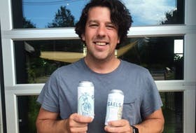 Owner of the Evermoore Brewing company, Alex Clark, recommends their newest brew, the Two Gaels, which is his new favourite.