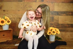 Isobella Hurley of Conception Bay South with her two-year-old daughter, Matilda.