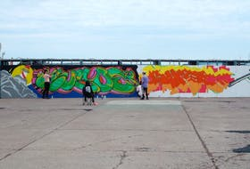 The Botwood Mural Arts Society said the all-ages LaRUE Street Art Festival is a live blend of rural and urban art with a goal of creating five new street art murals covering 3000 sq. ft on the old machine shop building on Military Road in Botwood.