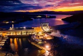 The Muskrat Falls hydroelectric development.
