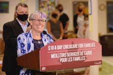 Kathleen Couture, executive director of the P.E.I. francophone early childhood education centres, was excited by the $10 a day childcare for families announcement on July 27 in Charlottetown.