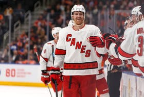 Former Carolina Hurricanes defenceman Dougie Hamilton signed with New Jersey on Wednesday.