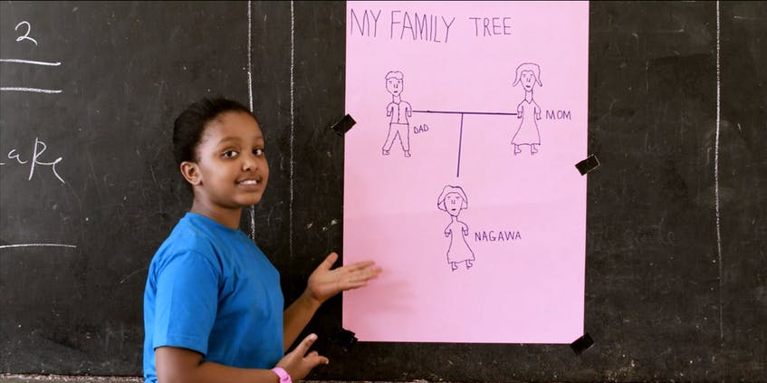 """A still from Ugandan director Nicole Magabo's """"Family Tree."""" Having her film shown in Newfoundland is surreal, she said."""