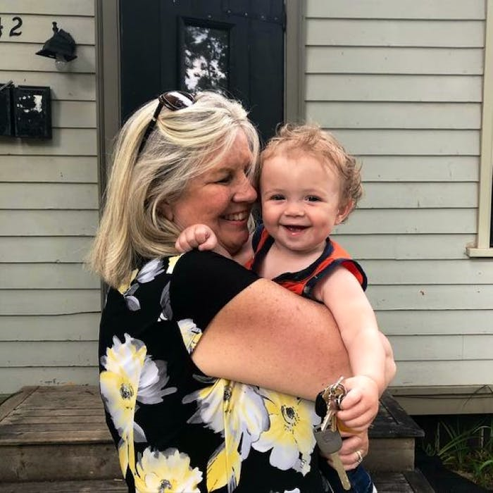 Two summer babies: P.E.I.'s Gertrude Trainor and her grandson, Pierce. According to Statistics Canada, more babies were born in July and August than any other month of the year between 2015 and 2019. - Contributed