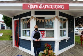 Michelle Davey is one of the owners of Crepe Expectations, a new crepe restaurant on the Pictou waterfront