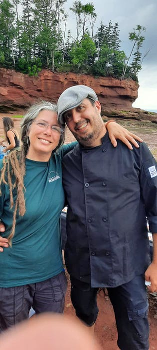 Kimm Kent and Domenic Padula have taken over as owners of Dining on the Ocean Floor and the restaurant is nearly sold out this season.  - Contributed