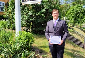Yarrow Bedwin is a 2021 graduate of Horton High School and this year's winner of the Wolfville Historical Society's Watson Kirkconnell History Prize. CONTRIBUTED