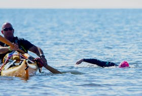 For the first time in The Big Swims's 10-year history, participants will swim in the waters of Nova Scotia. The event was originally a swim across the Northumberland Strait from P.E.I. to New Brunswick.
