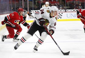 Forward David Kampf signed for two years with the Maple Leafs on Wednesday for an AAV of $1.5 million. The 26-year-old had 12 points 56 games for Chicago last season.