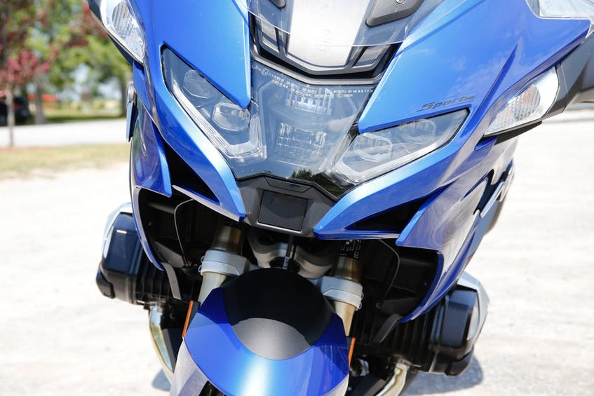 Most notable in motorcycling's technology wars is the RT's all new radar-controlled cruiser control system - A first of its kind on a two-wheeler. Photo: Glenn Roberts