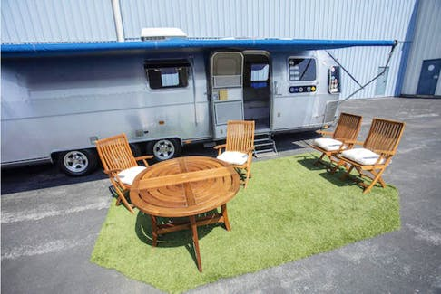 The 1992 Airstream Model 34 Limited was purchased in 1993 as a shell with a custom interior installed. The trailer toured from Seattle for Sleepless in Seattle to South Carolina for Forrest Gump, collecting some memorabilia along the way that will remain with it when it sells. Photos: Bonhams