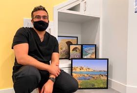 Dr. Ayman Awad wants the clinic to be a reflection of his identity and values. He plans on hanging photos of his Palestinian ancestral hometown on the walls.
