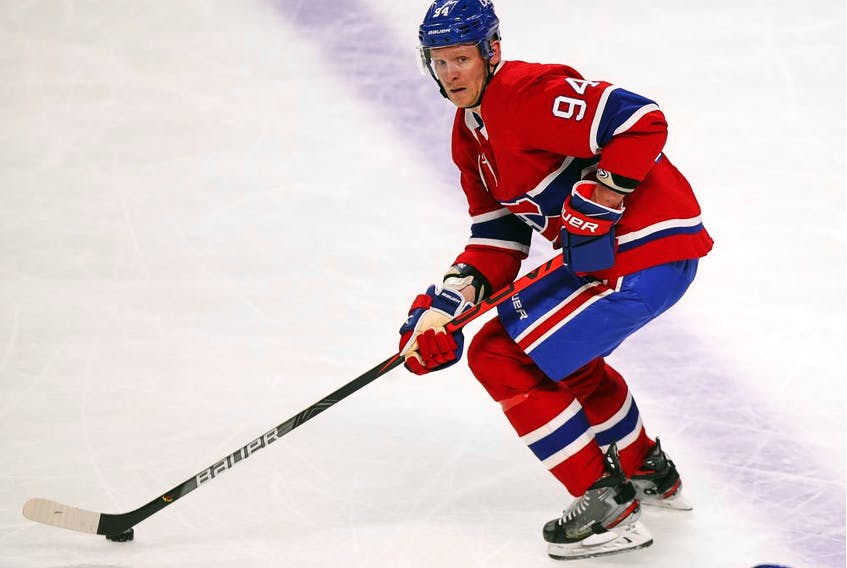 """""""It was special and it's going to rank up there for me in my career just as one of the top things I've ever done,"""" Corey Perry said about getting the oportunity to play for the Canadiens, the team he grew up cheering for."""
