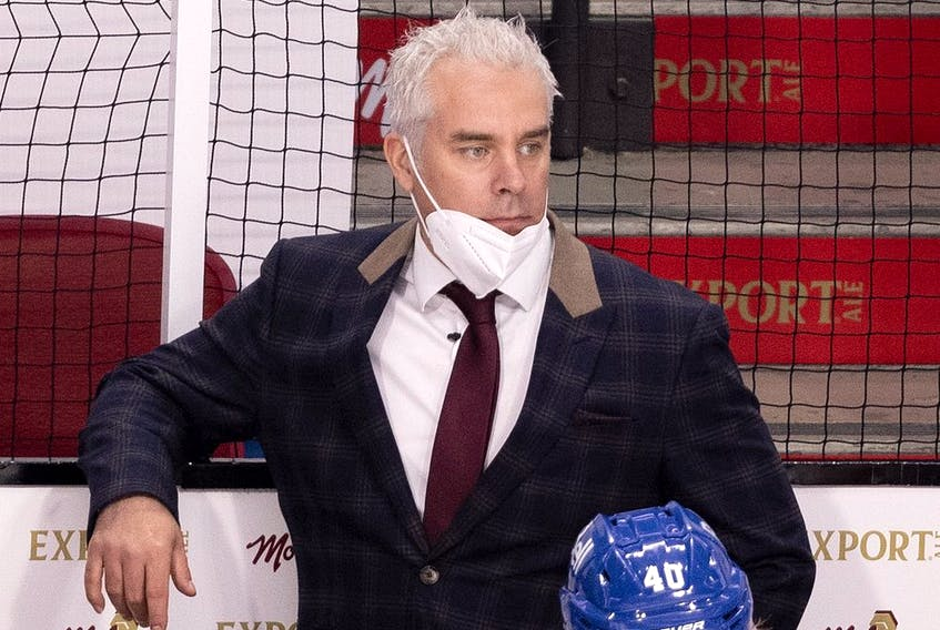 """""""I worked closely with Éric (Raymond) for many years,"""" Canadiens head coach Dominique Ducharme said. """"Along with being an excellent communicator, he has a modern approach and emphasizes modern techniques."""""""