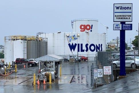 Wilsons' fuel storage facility on Barrington Street in Halifax.