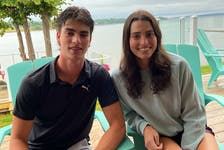 Charlottetown siblings Matthew, left, and Alexa McQuaid are getting read to take the next step in their respective sports during the 2021-22 season. Alexa is looking forward to joining the Colby College swim team in Maine, and Matthew will attend the training camp of the Quebec Major Junior Hockey League's Charlottetown Islanders.