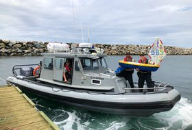 Fisheries officers retrieved a small sailboat on July 14, which was  launched by an environmental science class at Burrillville High School in Rhode Island. The miniature boat carried solar-powered GPS and students were excitedly following its journey.