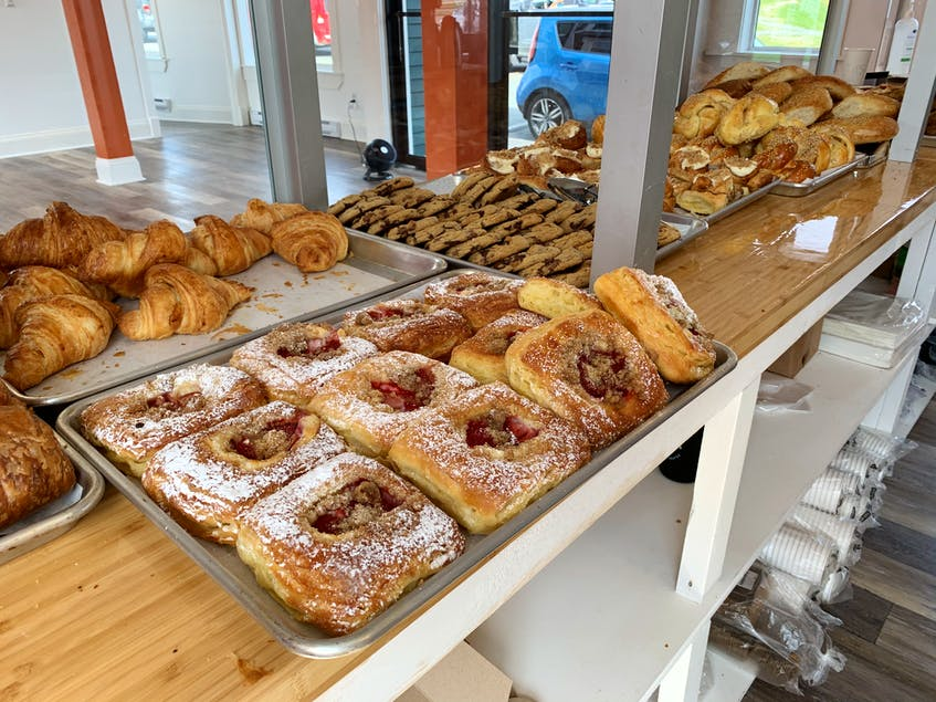 Levain Pastry Confections Bread has a variety of tasty treats available for purchase. - Andrew Robinson