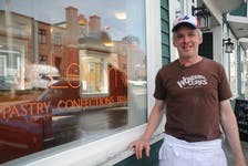 Phil Goodland is the owner and operator of Levain Pastry Confections Bread, a new bakery on Harvey Road in St. John's.