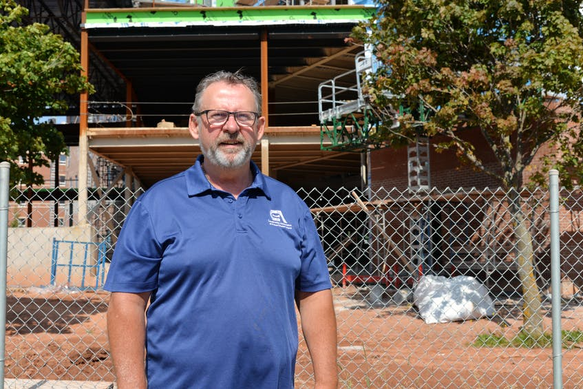 Sam Sanderson is the general manager of the Construciton Association of P.E.I. - Saltwire network