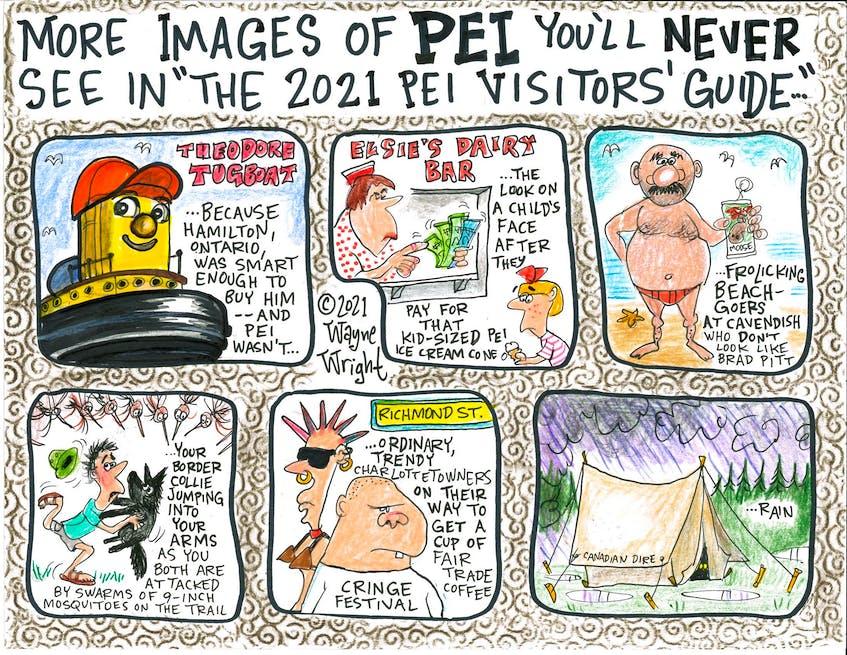 Wayne Wright editorial cartoon for Aug. 4, 2021.