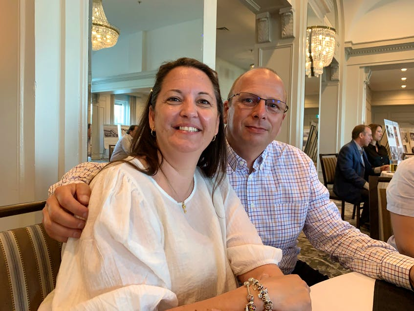 Benoit Wouters and his wife landed as immigrants in Nova Scotia about four months ago. Wouters said his family is adjusting well to their new life. - Nebal Snan