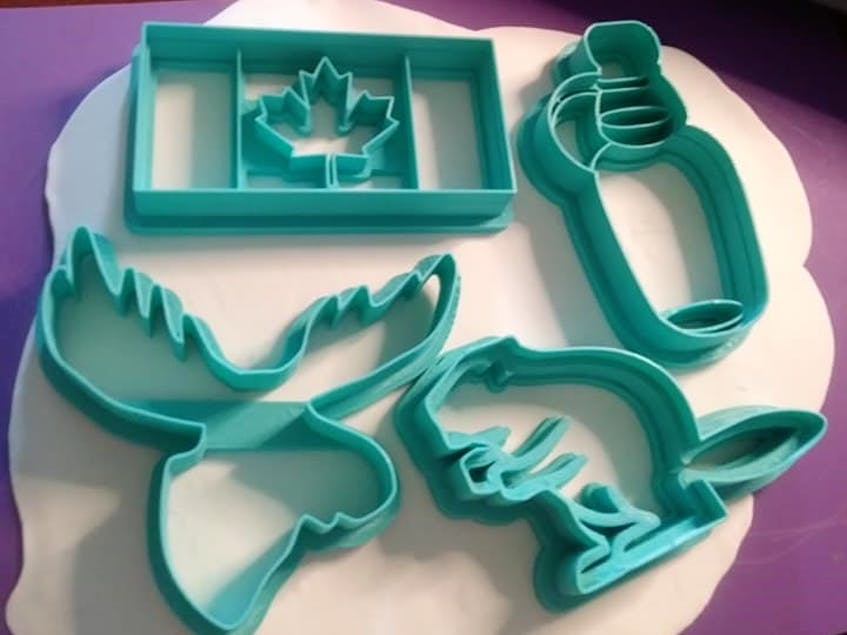 Athena Black said her most requested item to print is cookie cutters, prompting her to create a separate Facebook group for bakers.