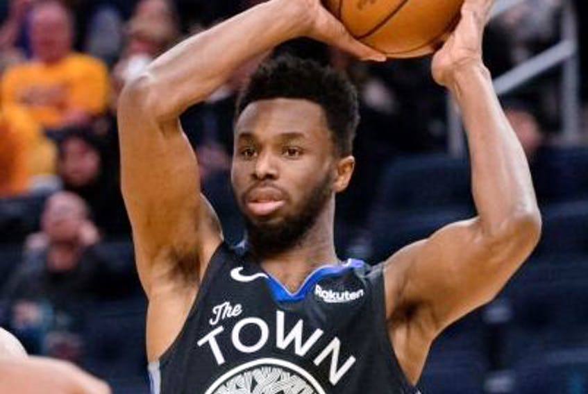 Golden State's Andrew Wiggins will likely form part of the nucleus for what could be a powerful Canadian team. USA TODAY Sports