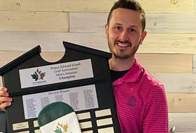 Brett McKinnon of the Ashburn Golf Club in Halifax captured the Men's Amateur Division at the Cooke Insurance P.E.I. Amateur golf championships at Fox Meadow in Stratford on Sunday. McKinnon shot a 72-hole score of 205 for a four-shot victory over Belvedere's Anthony Warren.