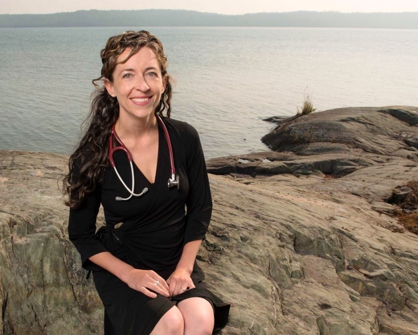 Dr. Courtney Howard is an emergency room physician in Yellowknife and an expert on the effects of climate change on health. - Contributed