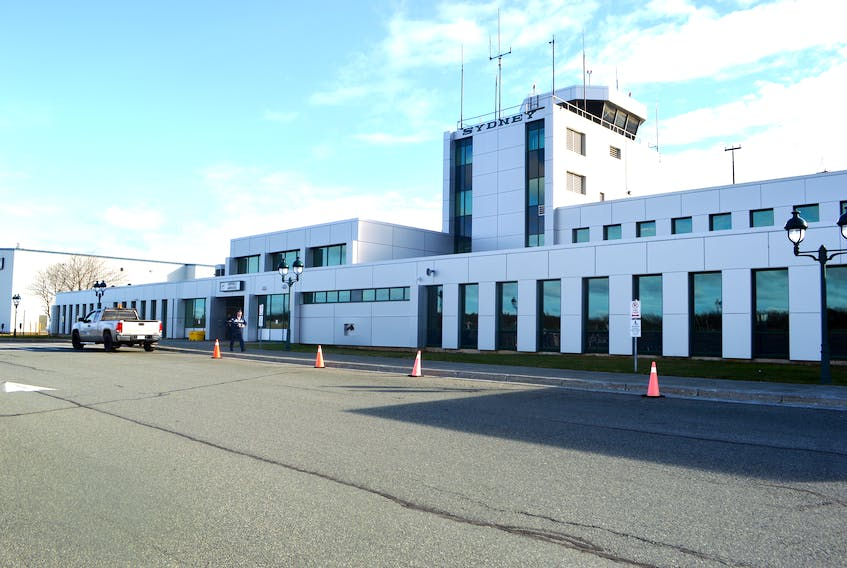 The J.A. Douglas McCurdy Sydney Airport. (Filed photo) Sharon Montgomery-Dupe/Cape Breton Post.