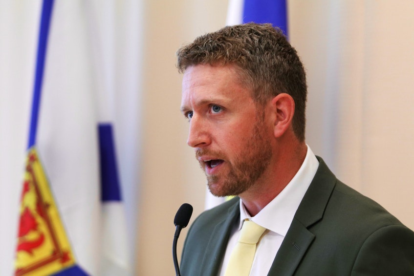 October 5, 2020 —Iain Rankin, representing the district of Timberlea-Prospect and former Environment Minister, has thrown his hat into the Provincial Liberal Leadership race. Rankin has become the second candidate to declare his intention to run for the leadership. ERIC WYNNE/Chronicle Herald - Eric Wynne