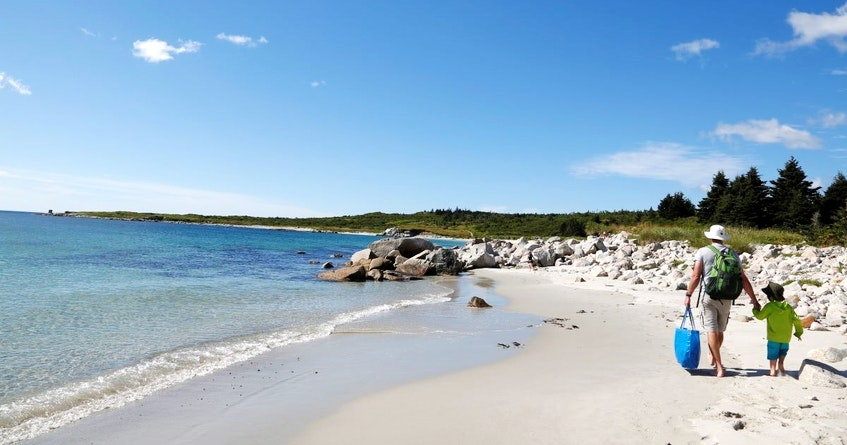 Crystal Crescent Beach is located at the mouth of the Halifax Harbour and features three white-sand beaches. - NS Provincial Parks photo - Saltwire network