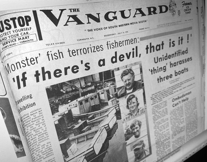 1976 story in the Yarmouth Vanguard. - File Photo