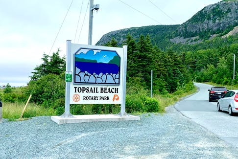 Topsail Beach Rotary Park is one of four parks in which Conception Bay South town council is considering installing gates to the entrances and exits to address nearby residents' concerns about speeding, noise and garbage.